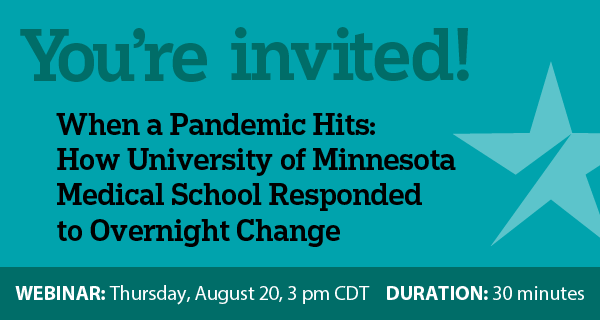 You're Invited - When a Pandemic Hits