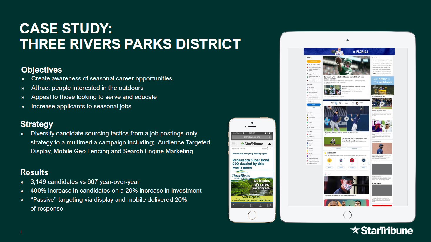 Case Study: Three Rivers Park District